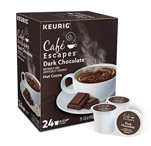 best hot cocoa k cups cafe escapes