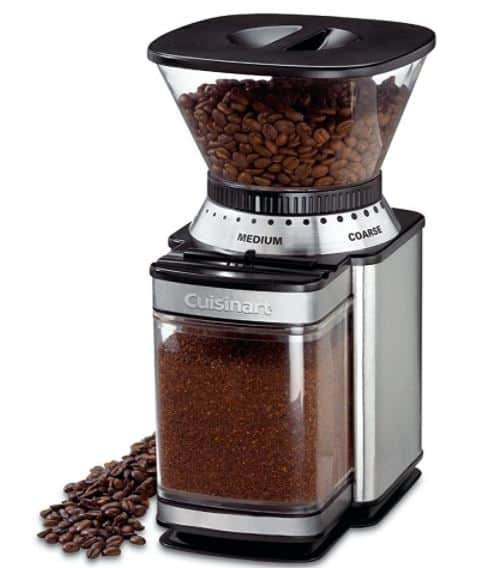cuisinart automatic burr coffee grinder