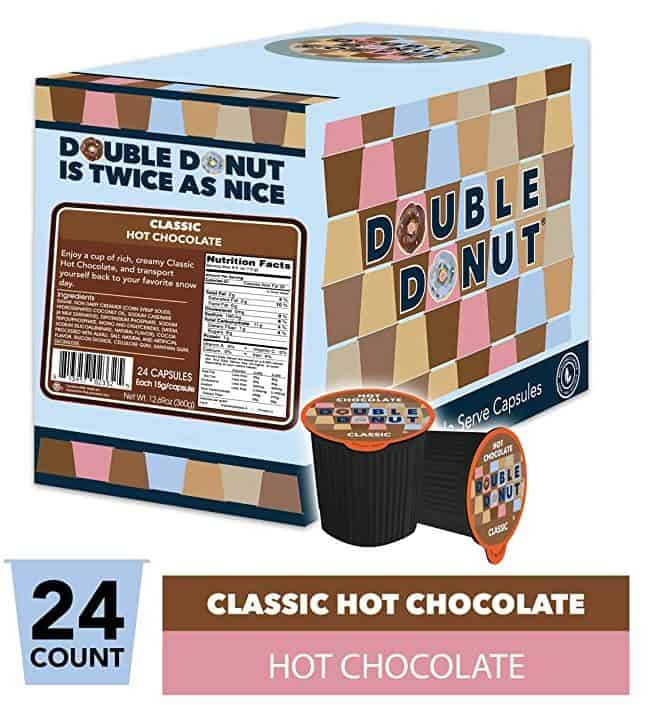 double donut hot chocolate k-cups