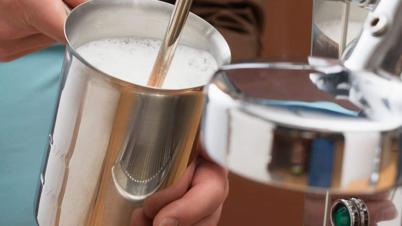 MILK FROTHING MACHINE