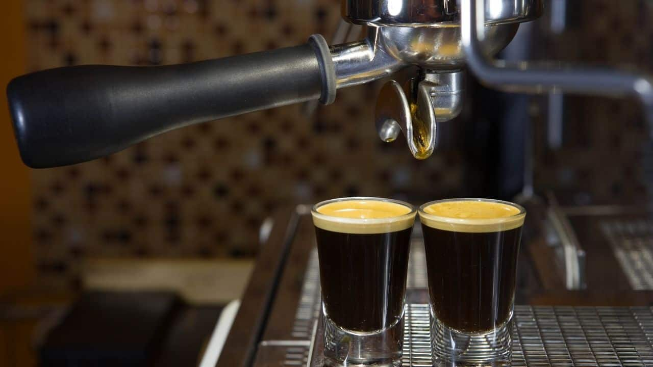 shot of espresso