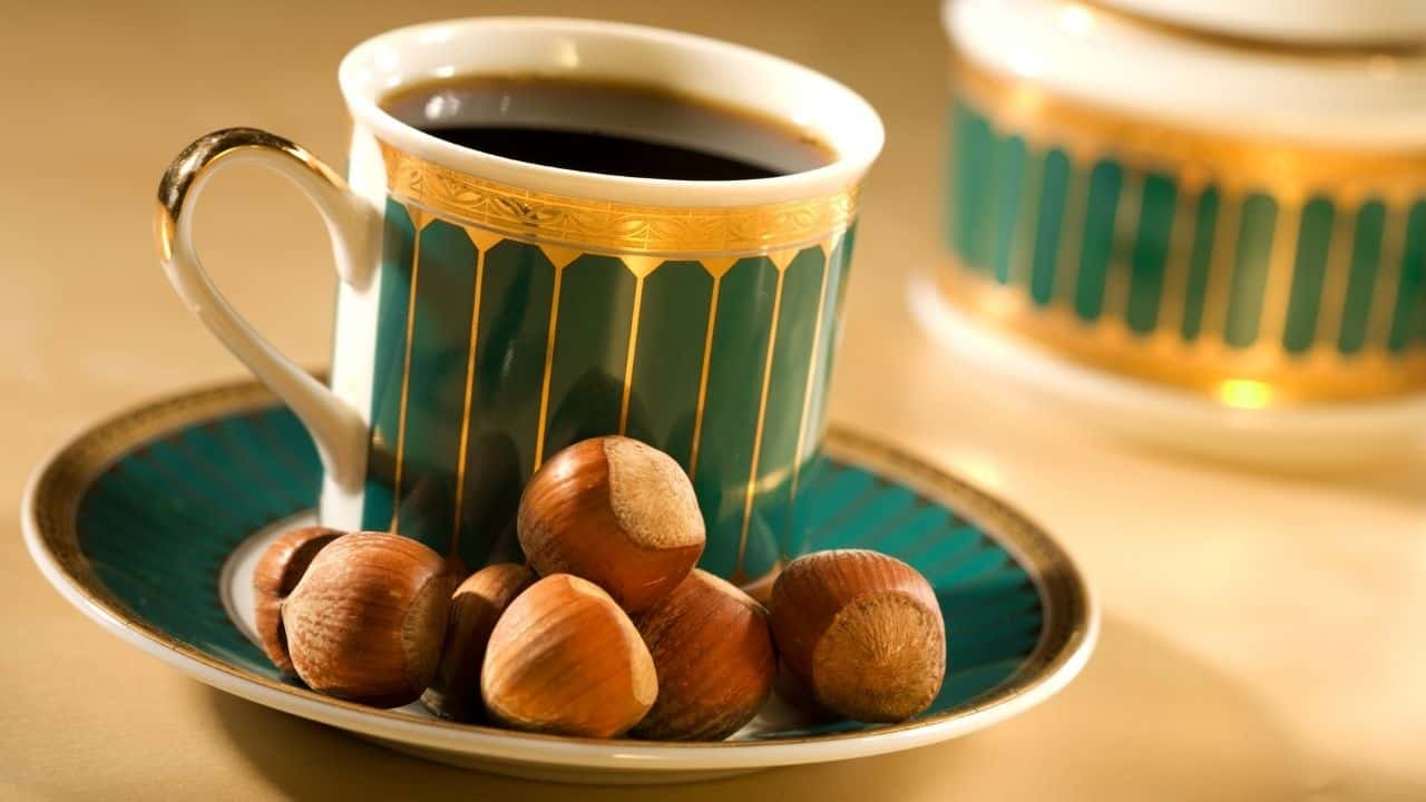 hazelnut for coffee