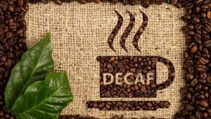 decaf coffee vs regular coffee